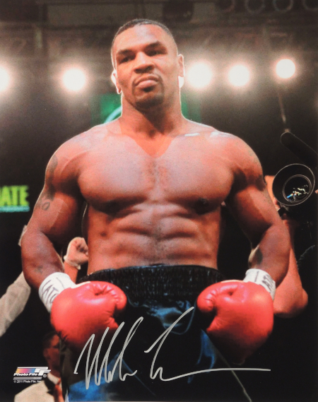 Mike Tyson muscles with cardio
