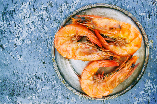 Seafood contains lots of zinc