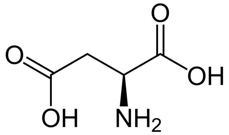 D-Aspartic Acid structure
